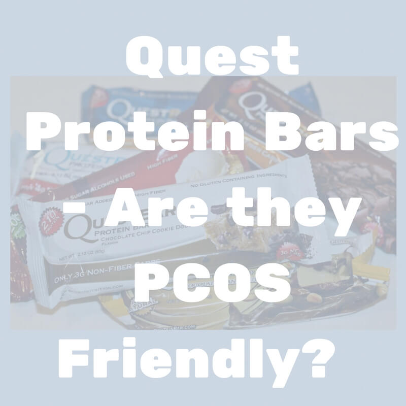 PCOS friendly protein bars – Quest Bars