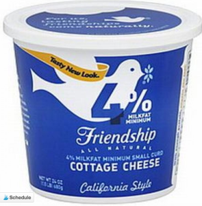 Friendship cottage cheese is my personal favorite! It is not watery and has a nice overall favor profile.